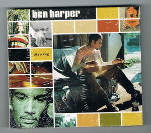 BEN-HARPER-LIKE-A-KING-CD-4-TITRES-1993-NEUF-NEW-NEU