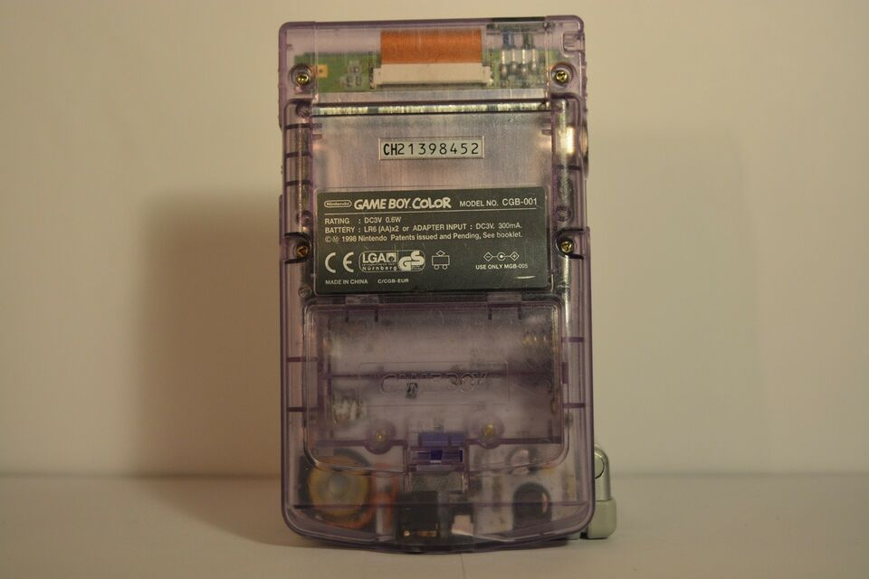 Nintendo Game Boy Color, Transparent, God