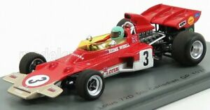 SPARK-MODEL 1/43 LOTUS | F1  72D N 3 CANADA GP 1971 R.WISELL | RED WHITE