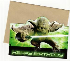 Image Is Loading SUNRISE HAPPY BIRTHDAY CARDS STAR WARS