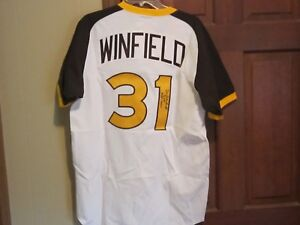 Dave-Winfield-Autograph-Signed-Jersey-San-Diego-Padres
