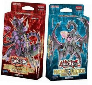 Yugioh-Dinosmasher-039-s-Fury-amp-Machine-Reactor-Structure-Decks-Set