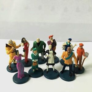 10pcs-Clue-Game-Suspects-Pieces-Tokens-Movers-Characters-Action-Figures-Kid-Toys