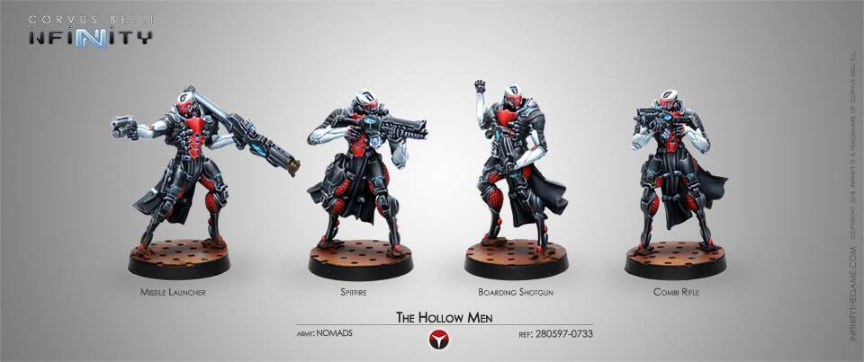 Infinity The Hollow Men Nomads box new