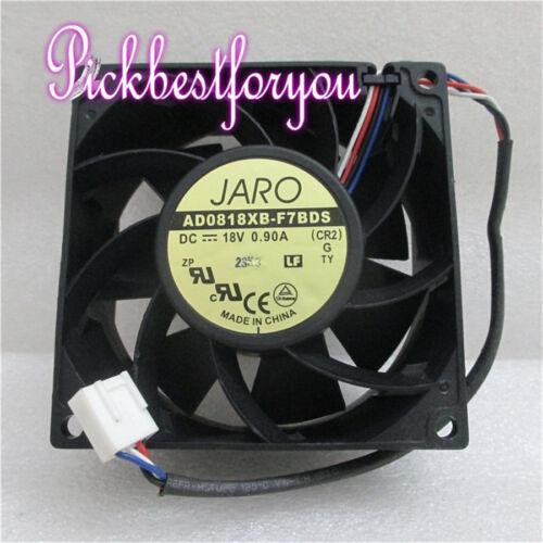 1pcs ADDA 8038 18V 0.9A AD0818XB-F7BDS 8cm Cooling Fan #MH36 QL