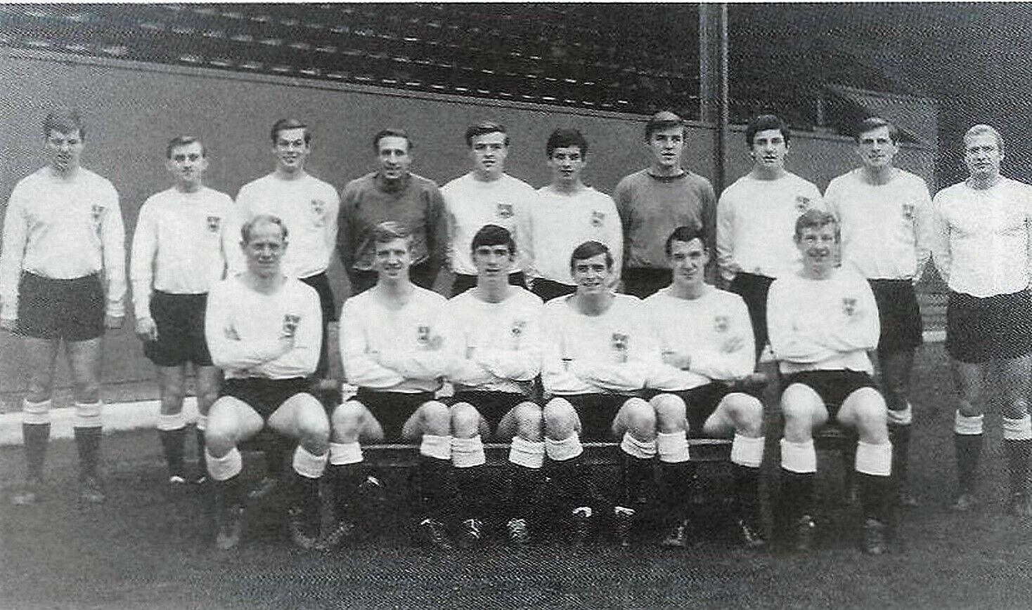 Image 1 - DERBY-COUNTY-FOOTBALL-TEAM-PHOTO-gt-1966-67-SEASON