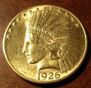 Nous-1926-Or-Aigle-Au-Indien-Tete