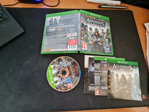ASSASSIN'S CREED SYNDICATE- MICROSOFT - XBOX 360  - XBOX X - XBOX ONE (RC)