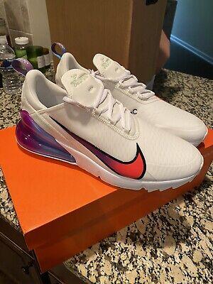 Nike Air Max 270 G Nrg Golf Shoes Size 12 Rare White Aqua Purple Black 2020 Ebay