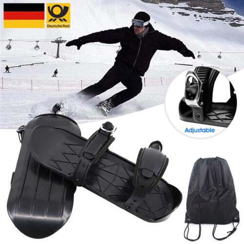 Einstellbare Ski Mini Schlitten Snowboard Wall Winter Skischuhe Combine Skate ❉