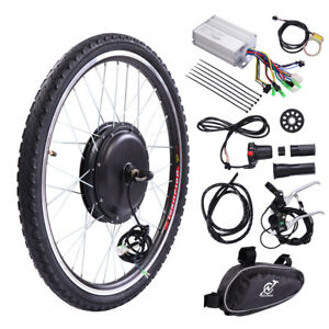 36V-500W-26-034-Front-Wheel-Electric-Bicycle-Ebike-Motor-Cycling-Conversion-Hub-Kit