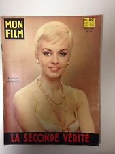 MON FILM N°758 1967 LA SECONDE VERITE / MICHELE MERCIER - ROBERT HOSSEIN