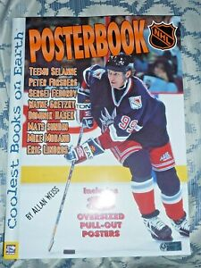 35-X-26-CM-NHL-POSTERBOOK-WAYNE-GRETZKY-ERIC-LINDROS-MIKE-MODANO-8-POSTERS