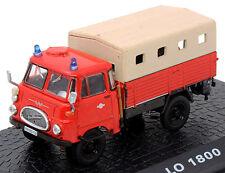 Robur LO 1800-A LF 8-STA, Auto Modell 1:72, Feuerwehr Magazinmodell