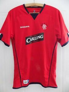 Glasgow Rangers Football Shirt Third Top 2004 2005  Diadora Jersey Size