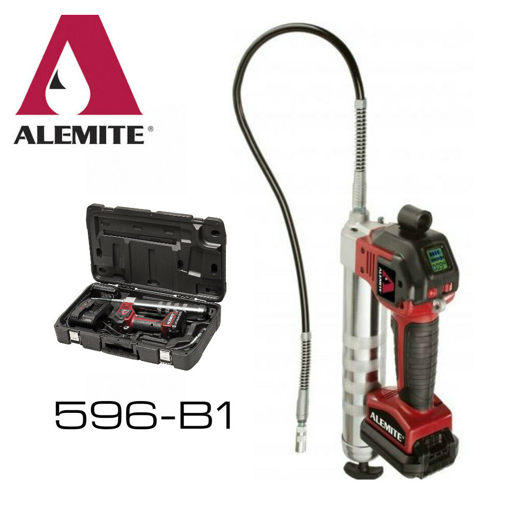 Alemite cordless grease gun frameless arched mirror