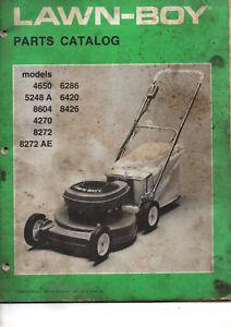 Catalogue Pieces Tondeuse A Gazon Lawn Boy 4650 6286 5248 6420 8604 8426 4270