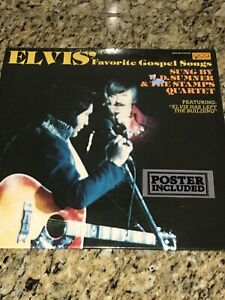 JD-SUMNER-amp-THE-STAMPS-QUARTET-Elvis-039-Favorite-Gospel-Songs-LP-bonus-CD-amp-45-RPM