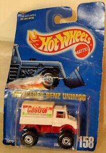 1991 Hot Wheels Mercedes Benz Unimog #158 Castrol Oil | eBay