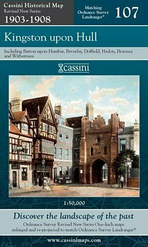 Kingston upon Hull (Cassini Revised New Series H, New, Books, mon0000102585