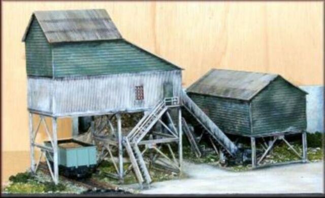 Knightwing PM113 Mine Top Buildings Kit OO Gauge