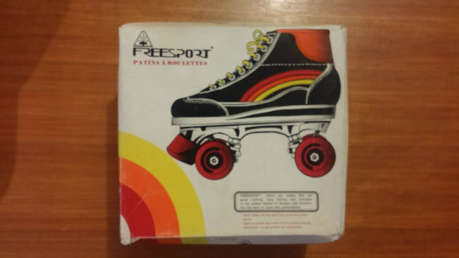 Patines Vintage Talla 32 Freesport Nuevo Angerichtet