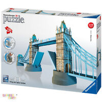 Tower Bridge Of London Building 3d Puzzle 216 Piece Ravensburger Jigsaw