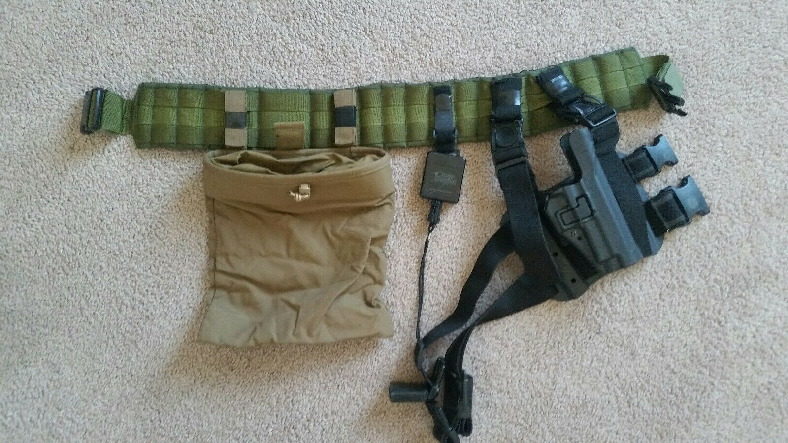 Tactical Molle  Operator belt with Sig P226 holster  with 60% off discount