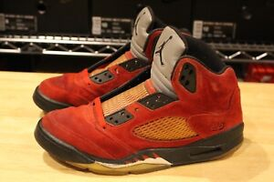 huge selection of 5ba99 a1eea Image is loading Nike-Air-Jordan-5-V-Retro-DMP-Raging-
