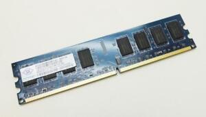 2GB-NANYA-nt2gt64u8hd0by-ad-pc2-6400u-800mhz-2rx8-DDR2-Non-ECC-ordenador-memoria