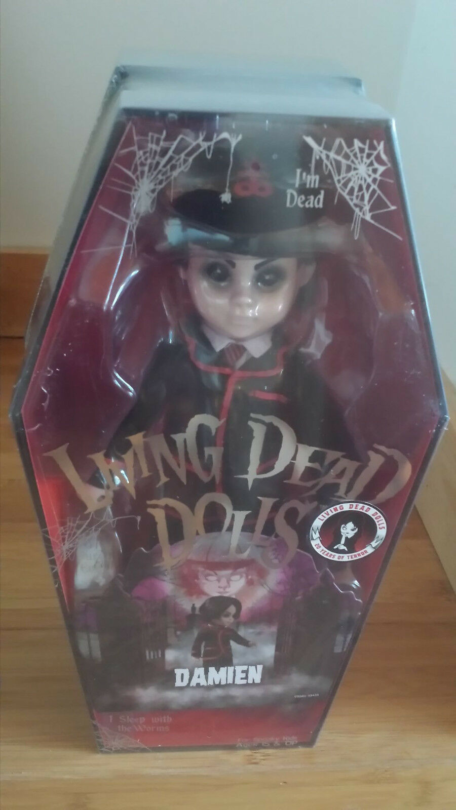 Living Dead Dolls 20th aniversario misterio Muñeca Colección Damien