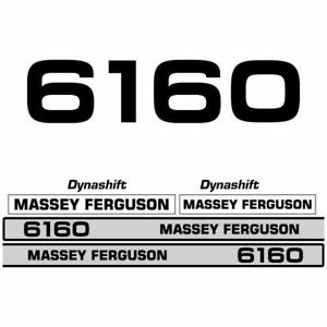 Details about Massey Ferguson 6160 decal aufkleber adesivo sticker set
