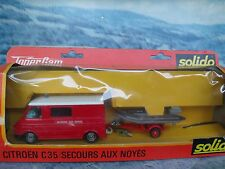 Solido (France) Citroen C35 van with figures #371