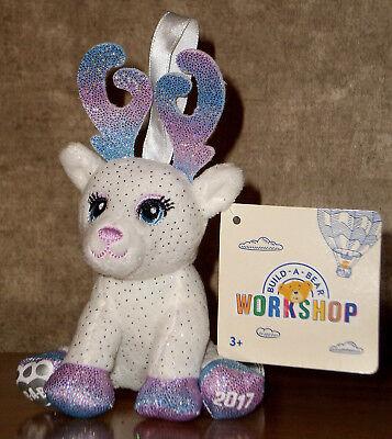 NEW BAB Build a Reindeer Bear Glisten/'s Purple Color Glow Cape w//Tags