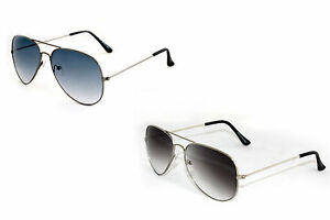 Combo of 2 Aviator Style Sunglasses (In Case & Wiping Cloth)(Goggles)