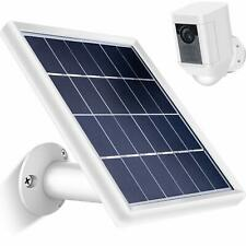 Solar Surveillance Camera Cables Panel for Ring Spotlight Security Wall Mount 5