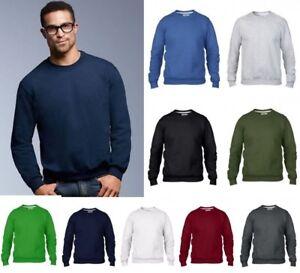 e611b5a2c Details about ANVIL Men's CREW NECK SWEATSHIRT Drop Shoulder Style in 9  Colour Choices