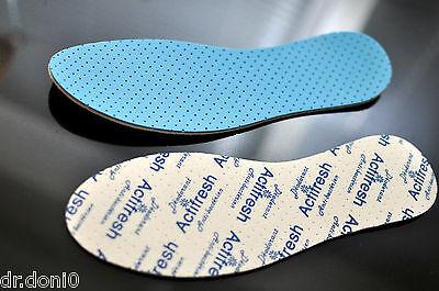 Premium Actifresh Antibakterielle Einlegesohlen Einlagen Schuheinlagen Gr.36-48