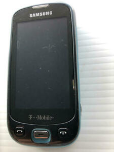 Samsung SGH-T749 T-Mobile Teal Cell Phone ASIS - Fast Shipping!