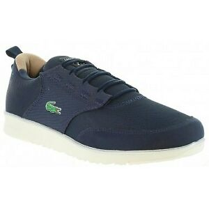 LACOSTE-LIGHT-118-1-SPM-Navy-Casual-SHOES-CNV-SYN-SZ-9