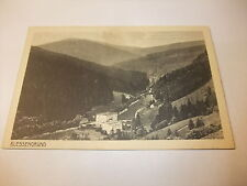 Postkarte Ansichtskarte Klessengrund Kaisersruh Agnes Schneeberg Schlesien v1945