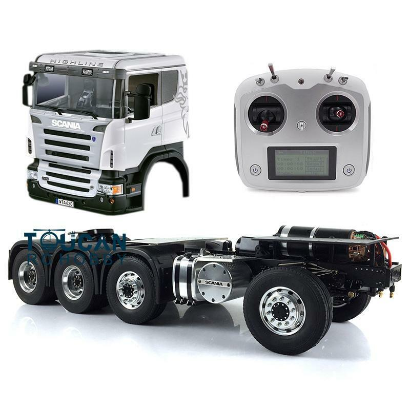 LESU  1 14 RC Camion Trattore modellololo Scania 88 chassis in mettuttio Hercules ABS CABINA ESC  n ° 1 online