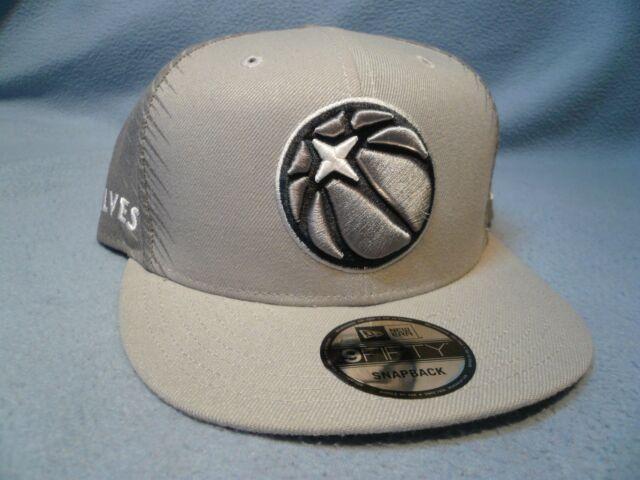 half off f2916 f717b New Era 9Fifty Minnesota Timberwolves City Series Snapback BRAND NEW hat  cap NBA