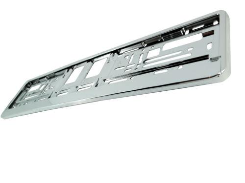 Autos de la placa de soporte envolvente marco mejor Super Cromo superchrome Tunning