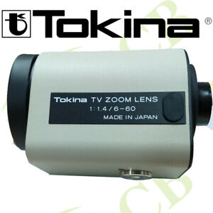 TOKINA-TM10Z0614GAIDC-f-6-60mm-F1-4-DC-IRIS-MOTORIZED-ZOOM-LENS-CCTV-CAMERA