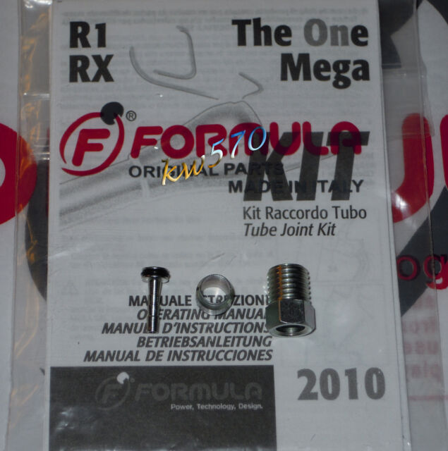 Formula - Kit to cut the hose of The One/T1/R1/RX/RO oval/Mega FD40018-40 +Istr.