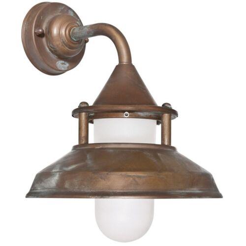 Nave Lampada Muro Esterno Lampada Esterno Lampada in ottone 230v e27 MAX 75w Moretti