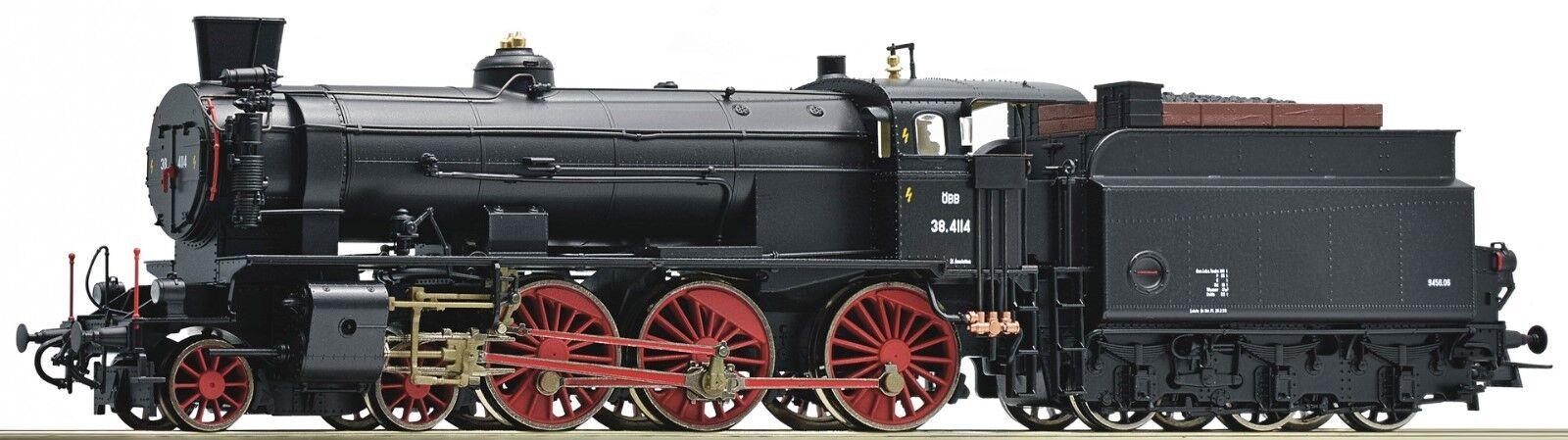 Roco 72120 Dampflok Reihe Reihe Reihe 38 4114 der ÖBB mit Giesel- Ejektor  | Verrückte Preis  7416d5