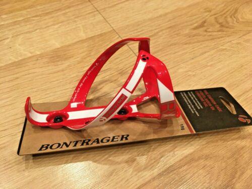 glossy trek race x lite xxx Red Bontrager RXL carbon water bottle cage