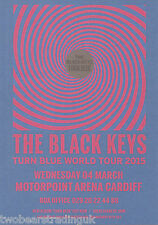 Event Promo Flyer: The Black Keys (Motorpoint Arena, Cardiff, 2015)